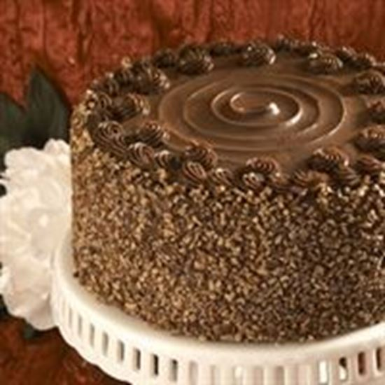 Picture of Triple Chocolate Pecan Cake