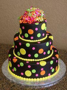 Picture of Ganache Birthday Cake