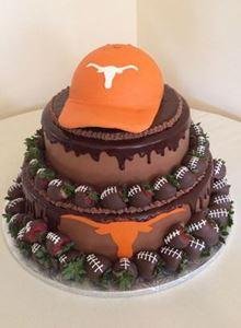 Picture of Longhorn Fan Cake
