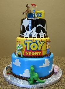 Picture of Toy Story Birthday Cake