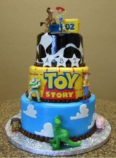 Sensational Elegant Cakery Toy Story Birthday Cake Personalised Birthday Cards Rectzonderlifede
