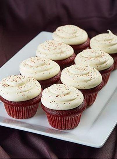 Picture of 1 Dozen  Red  Velvet  Cupcakes