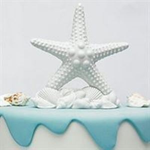 Picture of Starfish Wedding Cake Topper