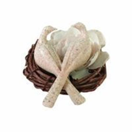 Picture of Doves Cake Pick - Stone
