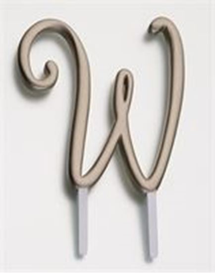 Picture of Monogram Letter Cake Topper - Gold