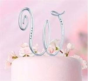 Picture of Monogram Rhinestone Letter