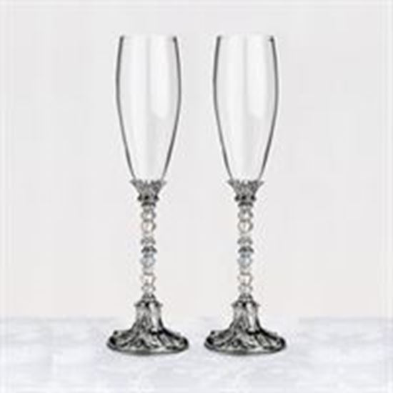 Picture of Beaded Toasting Glasses