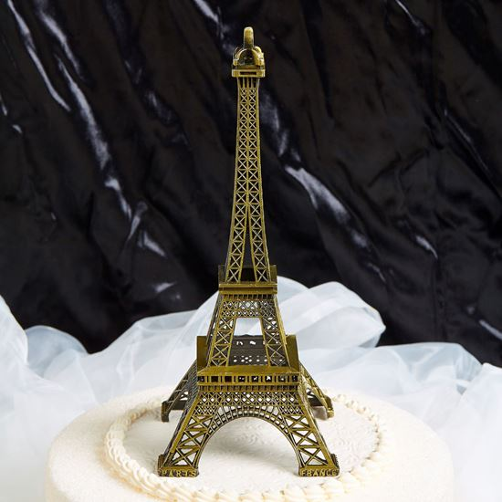 Picture of Paris Eiffel Tower Cake Topper