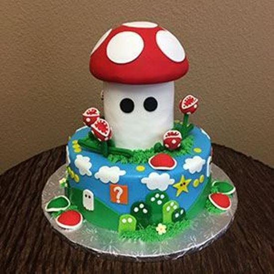 Pleasing Elegant Cakery Mario Brothers Cake Funny Birthday Cards Online Alyptdamsfinfo