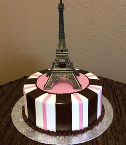 Picture of Eiffel Tower Cake - Pink