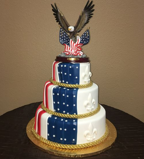 Picture of Eagle Scout Cake