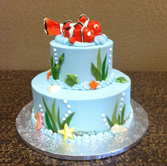 Picture of Fish or Mermaid Cake
