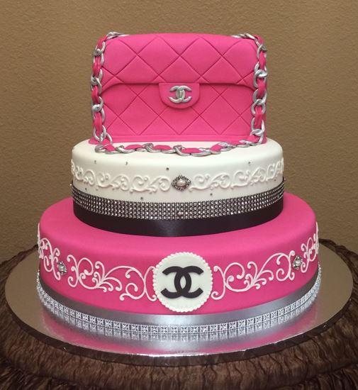 Picture of Designer Handbag  Cake