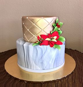 Picture of Gold & Marble Cake