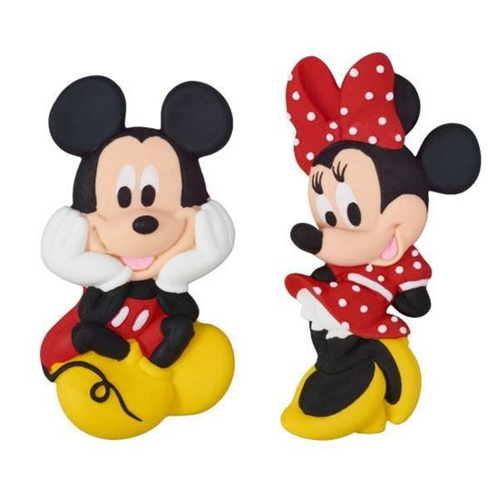 Picture of Mickey & Minnie Mouse Cake Topper