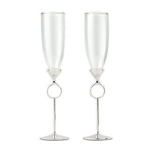 Picture of Diamond Wedding Toasting Set
