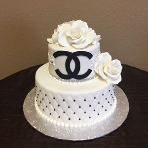 Picture of Monogram Logo Cake