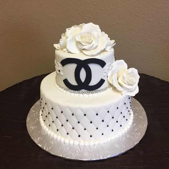 Picture of Monogram Logo Cake