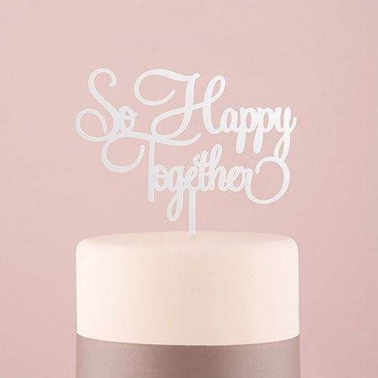 Picture of So Happy Together Cake Topper