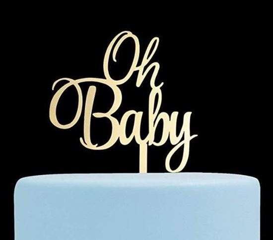 Picture of Oh Baby Cake Topper